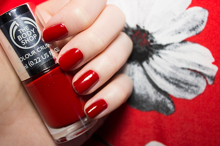 The Body Shop Colour Crush Nail Polish in Relish The Moment