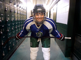 I'm an Engineer and a Hockey Player