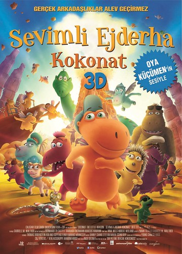 Sevimli Ejderha Kokonat - Der Kleine Drache Kokosnuss – Coconut: The Little Dragon (2015)