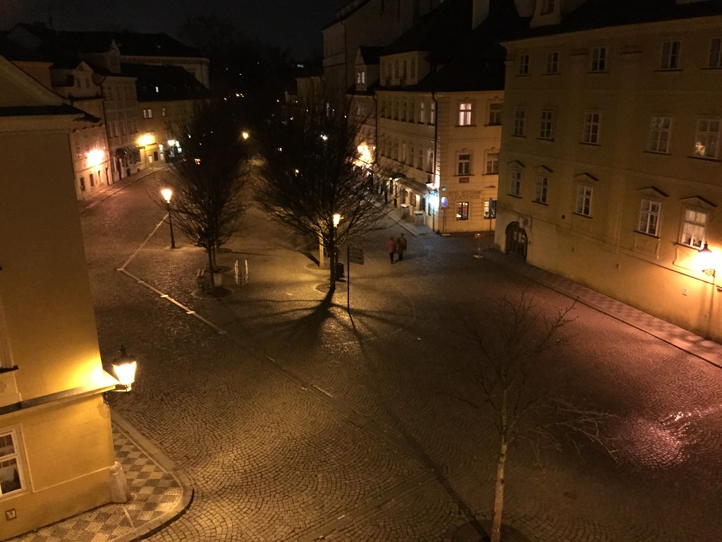 Hanging in Prague (2/28/15)