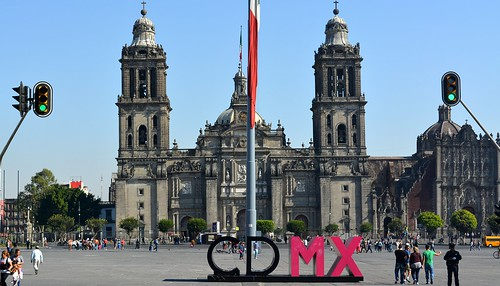 Quiet Morning on the Zócalo