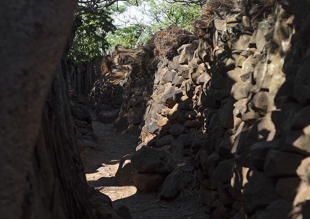 Alley In A Konso Village, Ethiopia