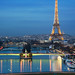 Paris @ Blue Hour by A.G. Photographe