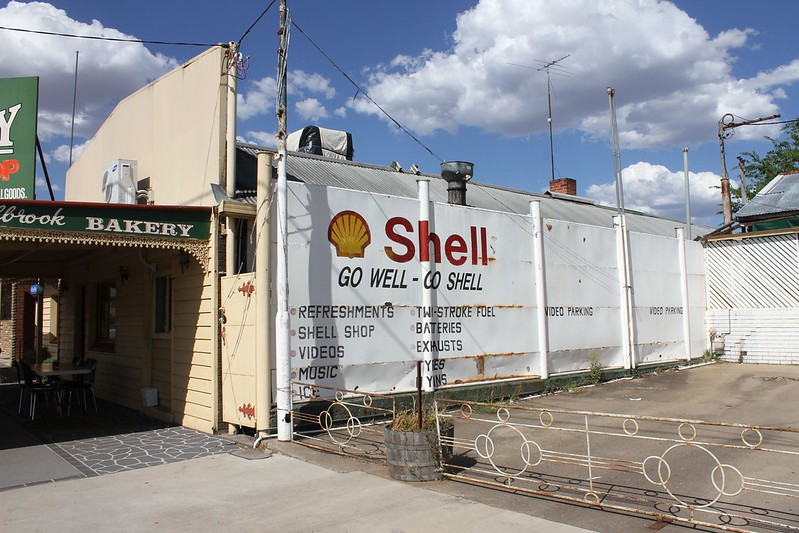 Shell Sign