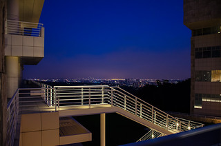 The Getty at Night