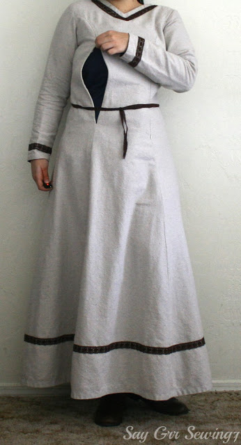 Princess Seam Nursing Dress