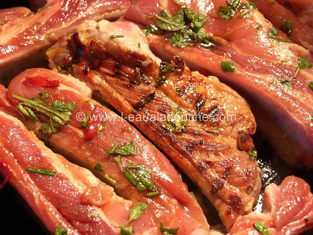 Fricassée Grillée & Patates Douces aux Herbes Fraîches © Ana Luthi