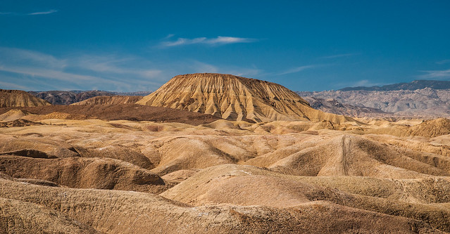 Carrizo Badlands of Anza Borrego