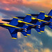 Blue Angels Miramar 2011 by Tripshooter
