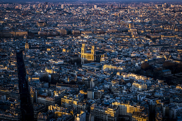Paris, vue sur le Saint-Sulpice