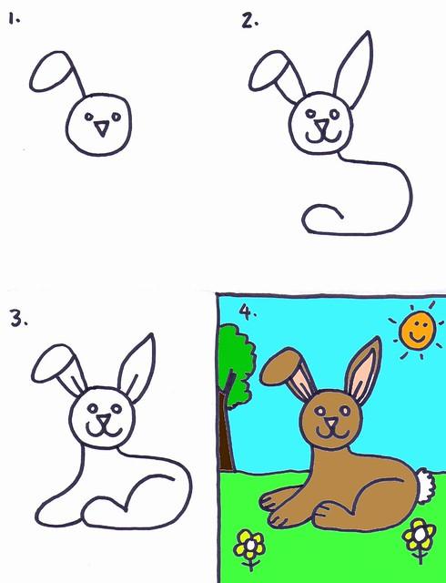 Draw a Bunny Rabbit