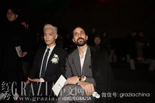 TOP - Dior Homme Fashion Show - 23jan2016 - 红秀GRAZIA - 01