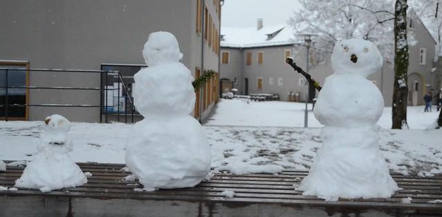 Schneemänner - Veitsburg Ravensburg