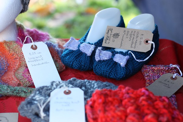 Tracey Millyard knitted slippers
