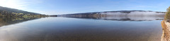 Panoramic view of the Lac de Joux