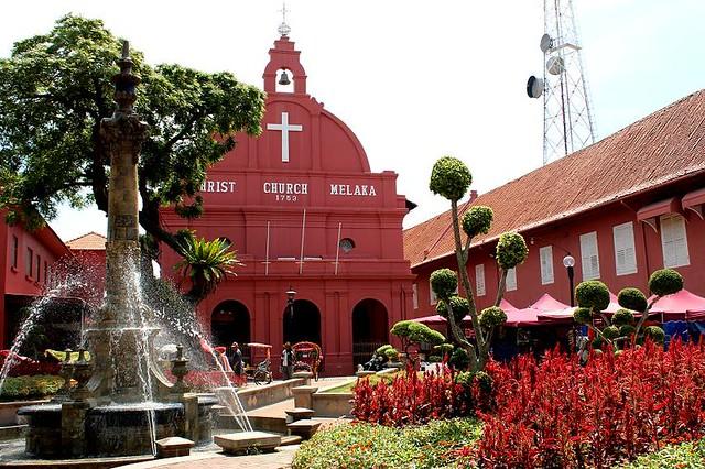 Visitar Malaca Dutch Square
