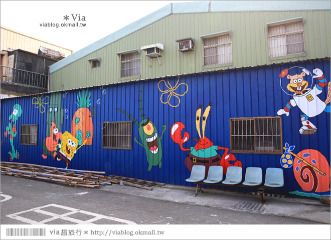【嘉義龍貓村】南崙彩繪村~全台第一座以龍貓為主題的彩繪村!36