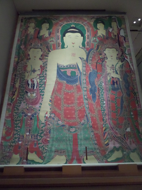 Huge Buddha Painting