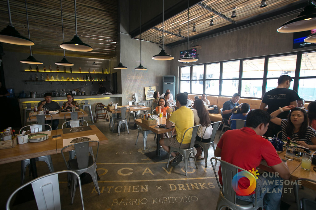 The young Pinoy vibe of the interiors was designed by Eric Matic, husband of one of the co-owners, Tin Magsaysay-Matic.