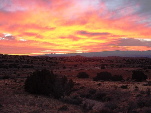 sunset newmexico