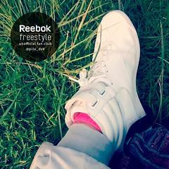 Primer plano de las fantásticas Reebok Freestyle Hi de nuestra amiga @pilu_ds9 . Como nos gusta como te quedan!  #reebok#reebokfreestyle#reeboks#rebook#reebokfreestylehi#reebokfreestylefanclub#sneakers#sneakerhead#fanclub#sneakerporn#sneakeraddict#streetw