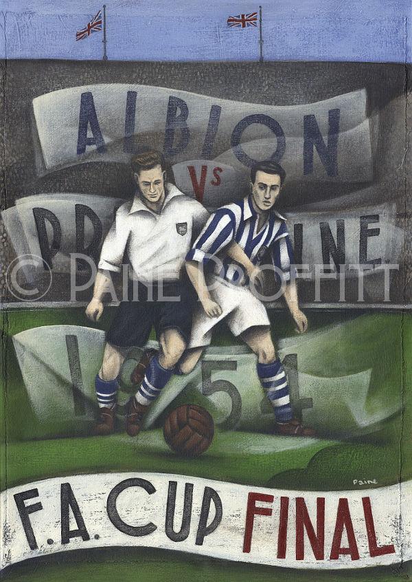 Proffitt - 1954 FA Cup Final