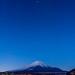 New moon Fuji by shinichiro*