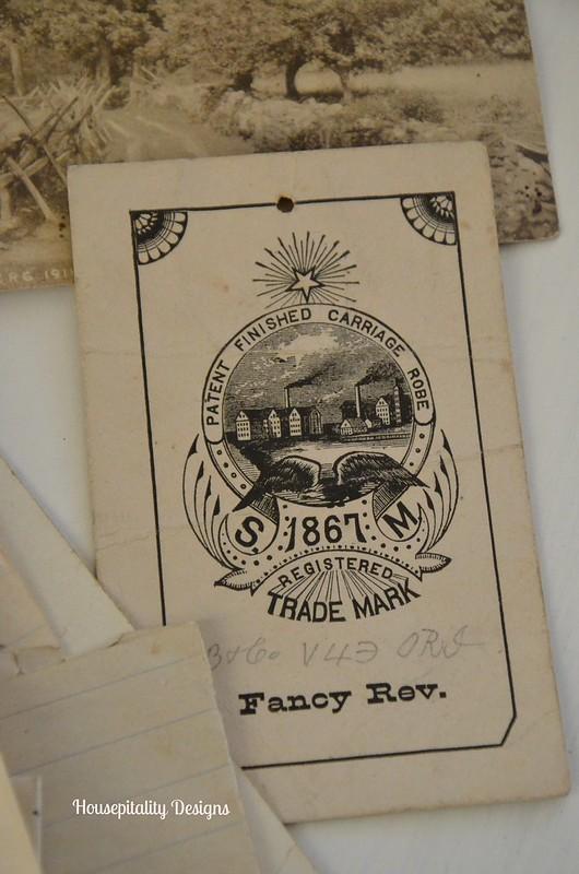 Antique Document-Housepitality Designs