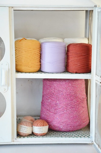 spool & wool cupboard