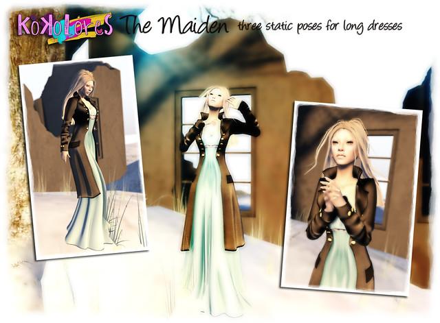 KoKoLoReS: The Maiden poses