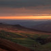 Sunset from Stanage Edge by Donna Hampshire