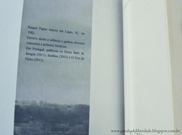 Sobre a autora Raquel Pagno