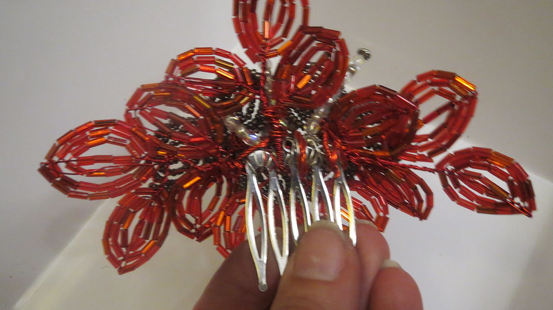 back of hair comb