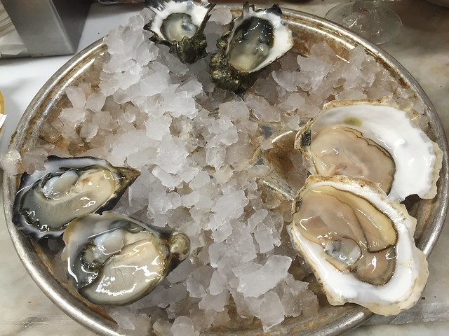 Oysters on the half shell - Swan Oyster Depot