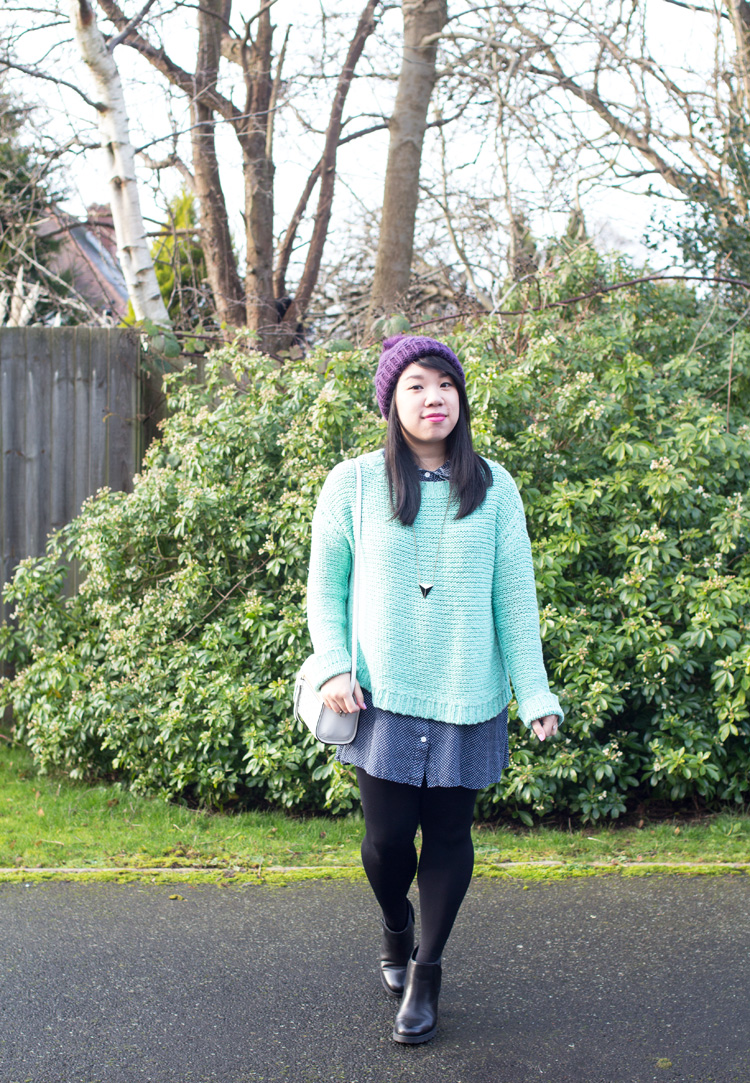 Mint Jumper Elizabeth and James