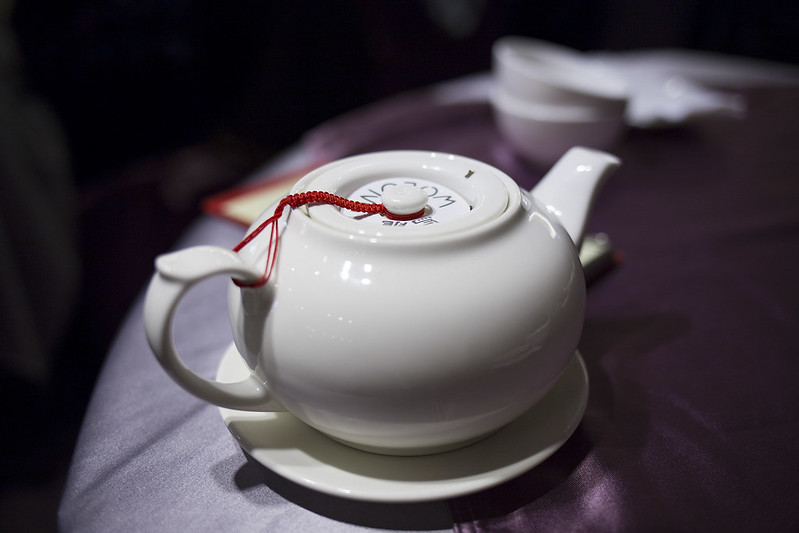 Chinese tea pot.