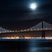 Moon light - San Francisco bay by davidyuweb