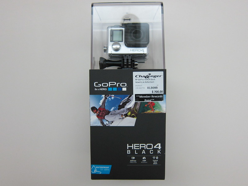 GoPro HERO4 Black Edition - Box Front