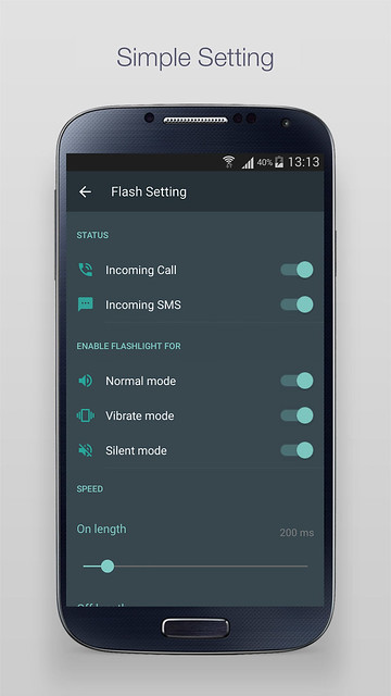 NICE-APP] LED Flash for Alert - Blink led flash alerts when receive