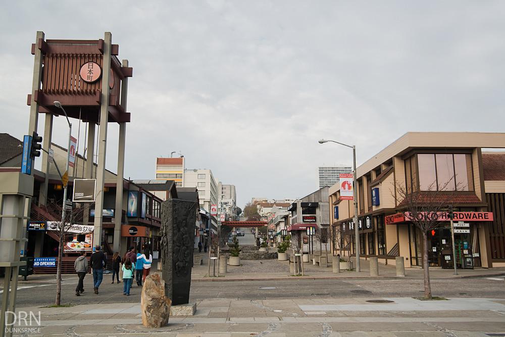 Japantown, San Francisco.