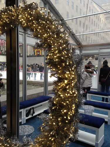 The Rink, Rockefeller Center, NYC. Nueva York