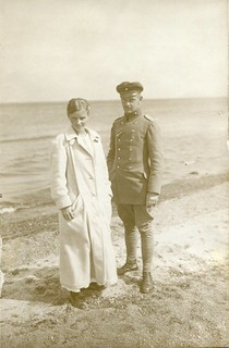 RPPC Portrait of a young couple - Germany - c.1916