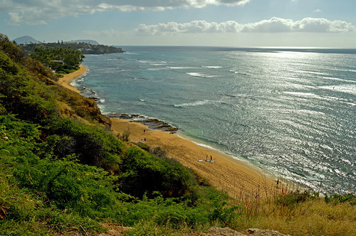 ocean sky clouds hawaii nikon oahu horizon pacificocean blackpoint nikond3200 yabbadabbadoo d3200 diamondheadroad kuileicliffs
