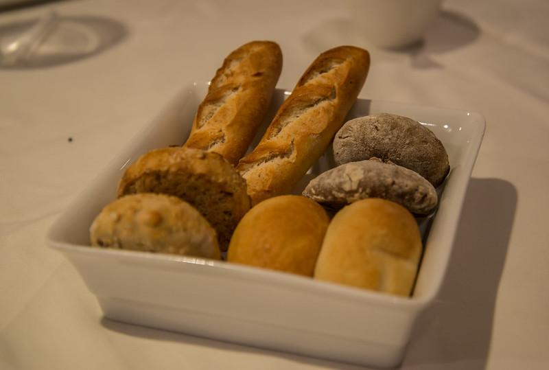 Selección de panes - Club de las Cenas Secretas en Atelier Belge