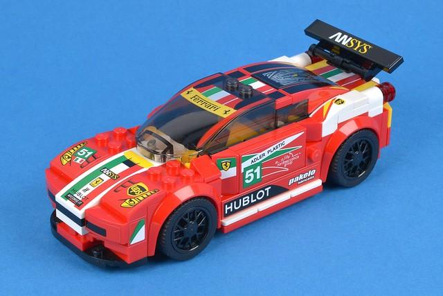 LEGO Speed Champions 75908 458 Italia GT2 review | Brickset