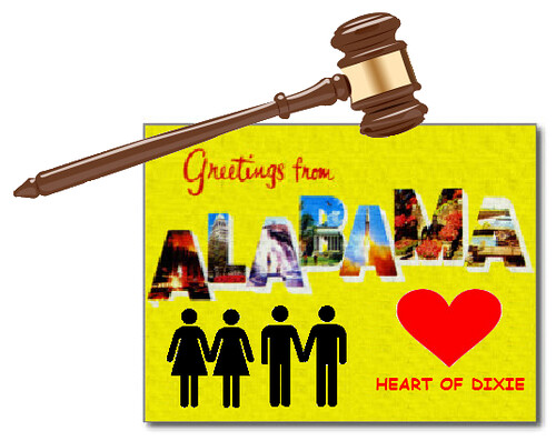 Alabama Supreme Court Secedes From Union Over Same-Sex Marriage