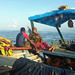 Peter Gostelow posted a photo:	Early morning off the Mozambican shores of Lake Niassa. Throughout the morning the boat stops at remote villages to pick up passengers and cargo before making the short crossing to Likoma Island in Malawi.