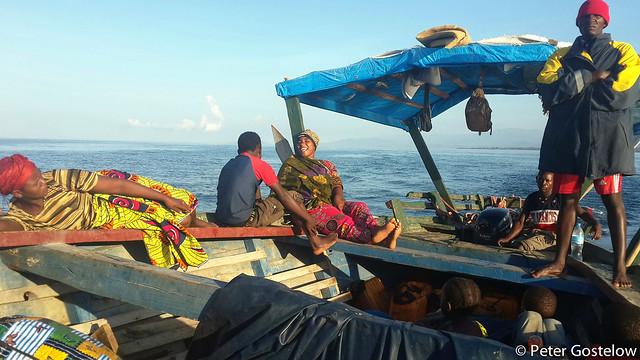 Boat to Likoma Island