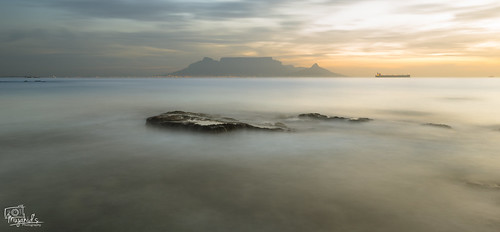ocean longexposure sunset sea mountain landscape southafrica capetown tablemountain westerncape landscapephotography