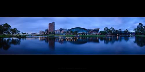 bridge sky water clouds sunrise river twilight cityscape australia adelaide southaustralia cityskyline